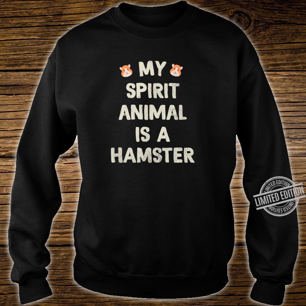 Funny Cute Hamster Shirt sweater