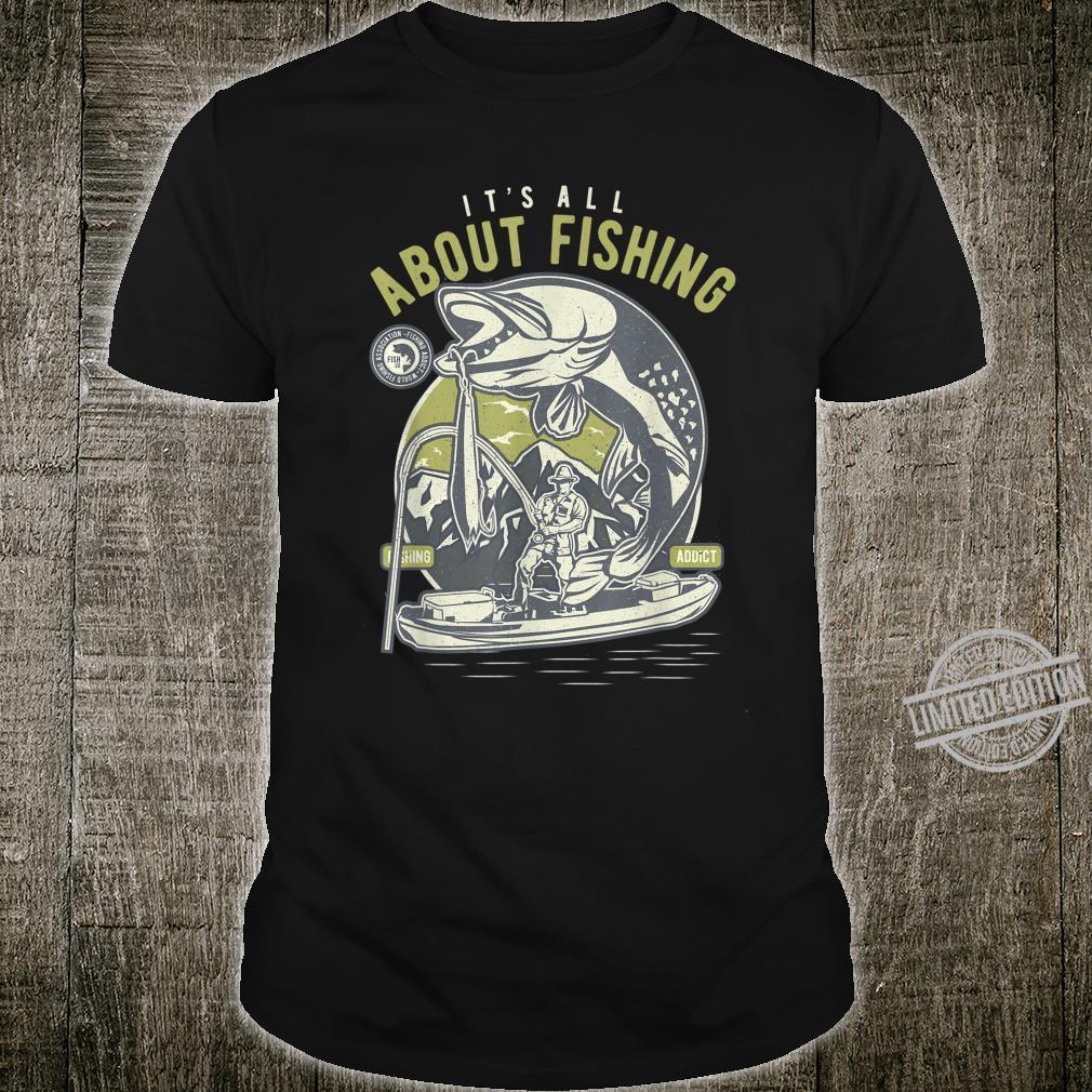 Funny Fishing Humor Fisherman Fishing Shirt