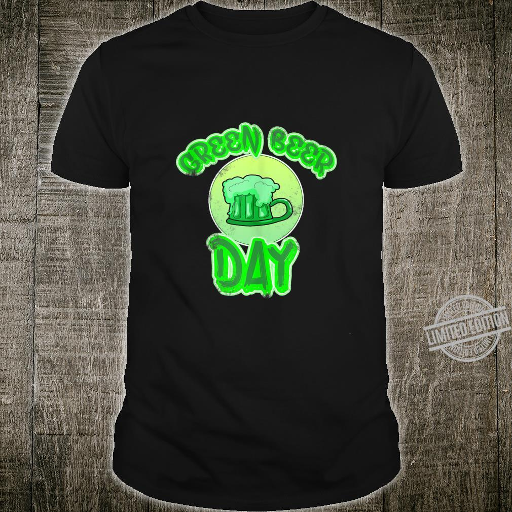 Funny Green Bear Day fors of St. Patrick's Day fun Shirt