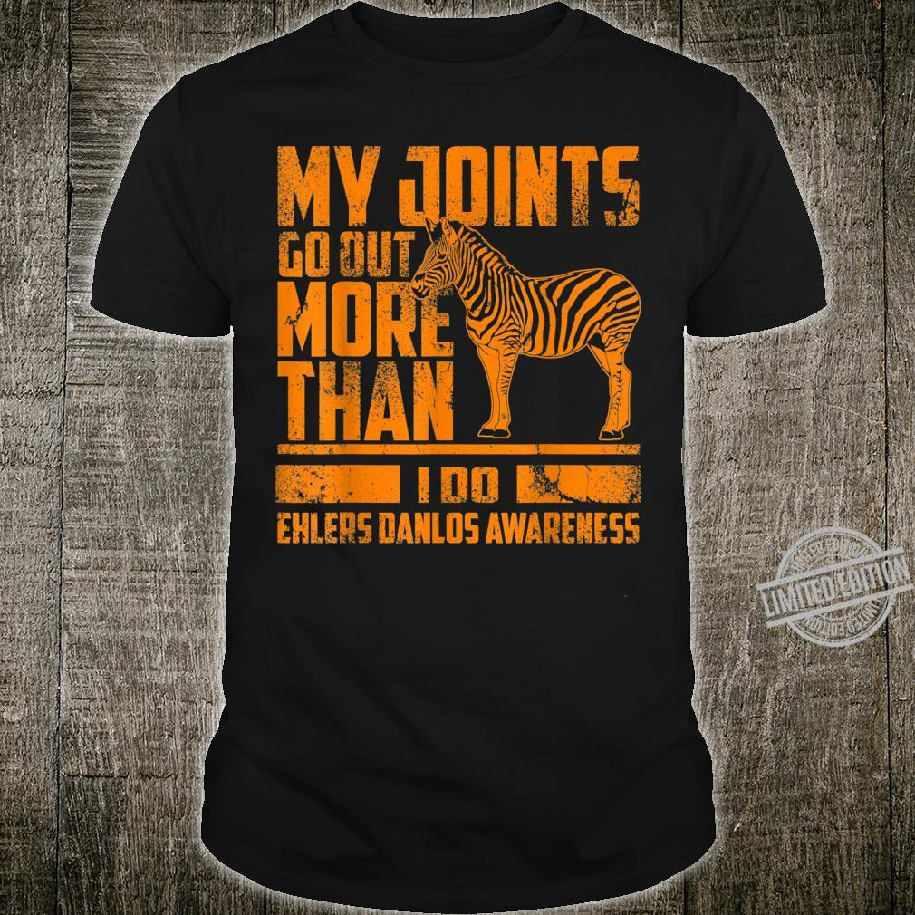 Funny Joints Go Out More Than I Do Cute Ehlers Danlos Shirt