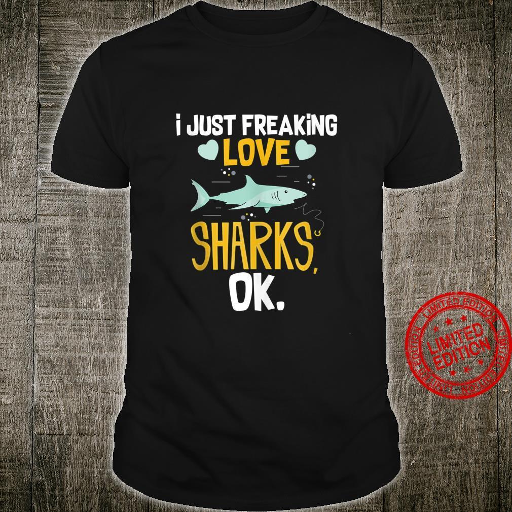 Funny Shark Quote Ocean Swim Marine Summer Idea Shirt