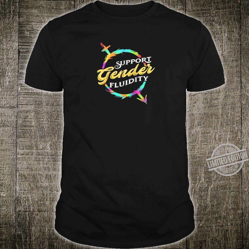 Genderfluid Nonbinary Identity Shirt