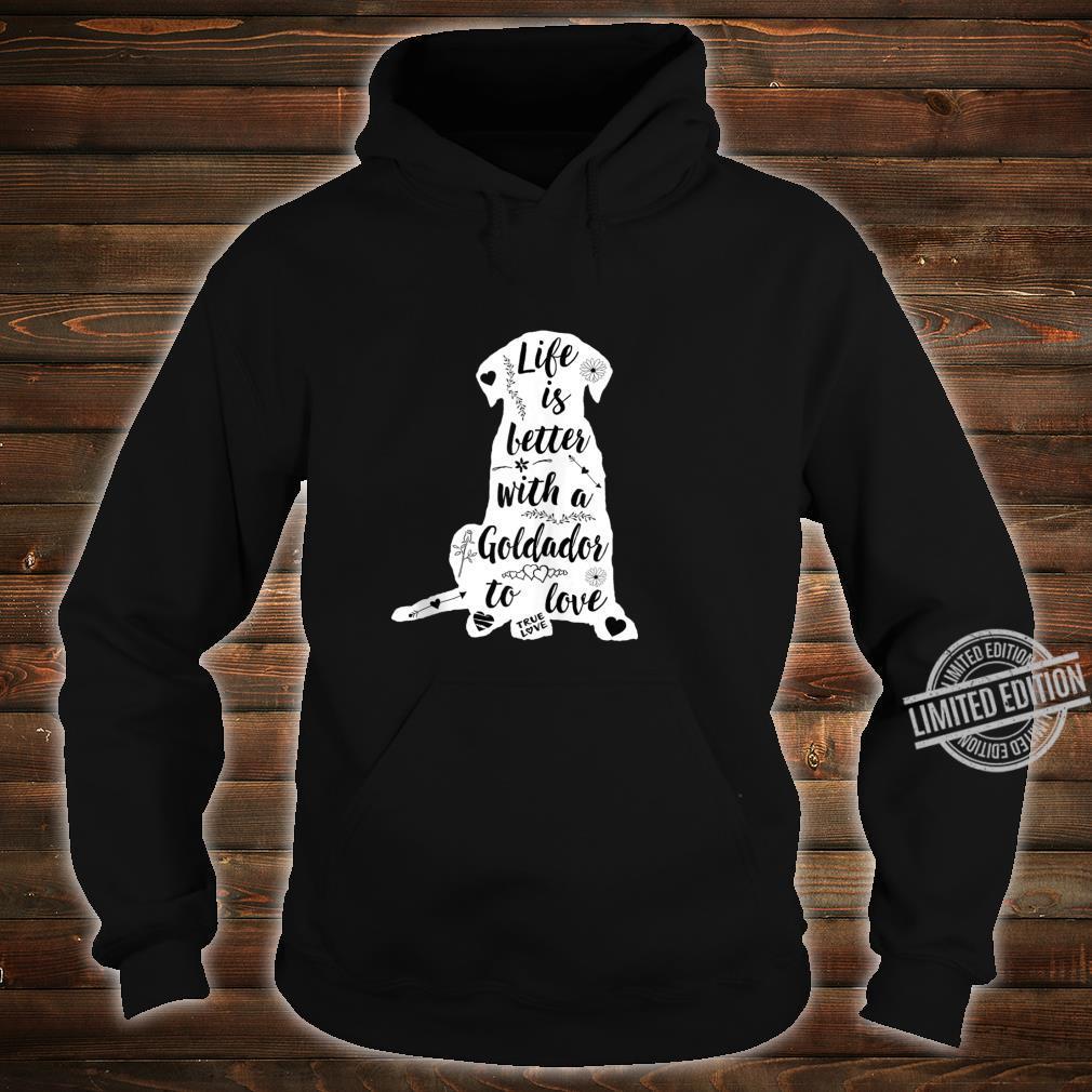 Goldador Shirt Design for Goldador Dogs Shirt hoodie