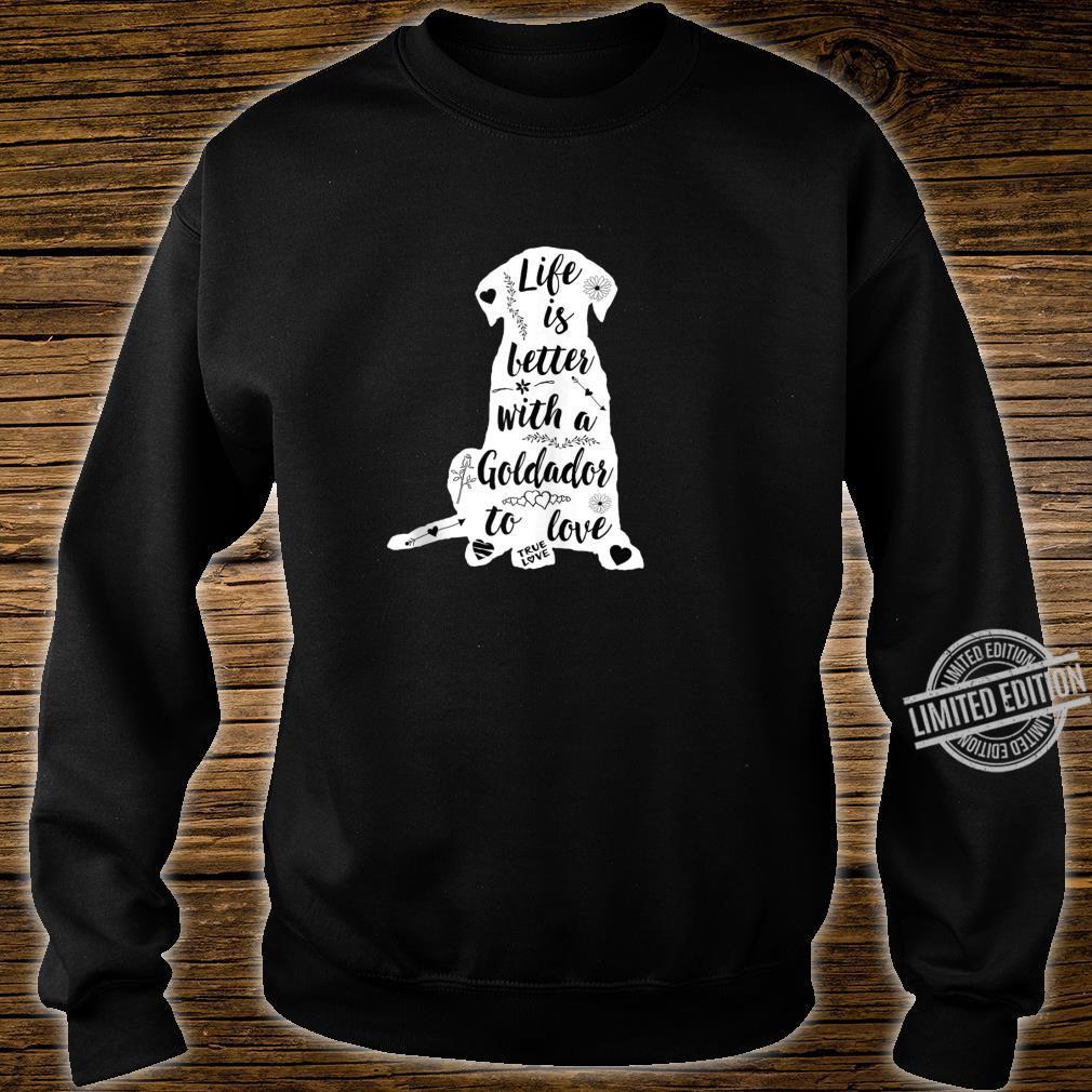 Goldador Shirt Design for Goldador Dogs Shirt sweater