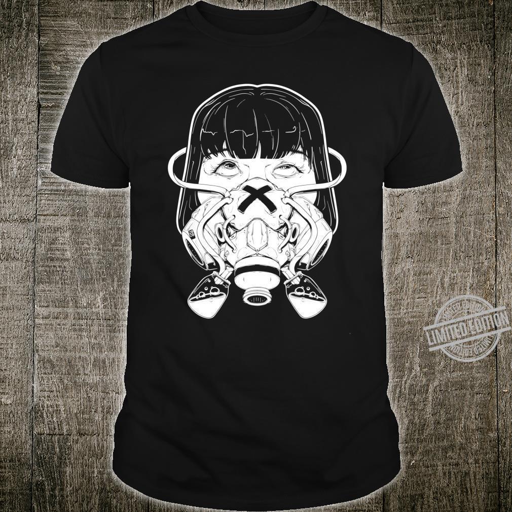 Grunge Apocalypse Pastel Goth Vaporwave Anime Gas Mask Shirt
