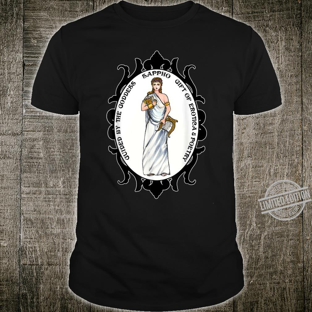 Guided By The Goddess Sappho of Erotica & Poetry Shirt