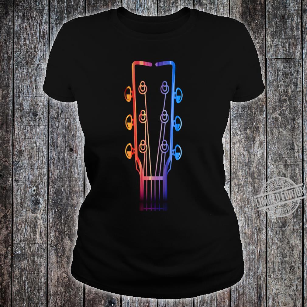 Guitar Strings Shirt ladies tee