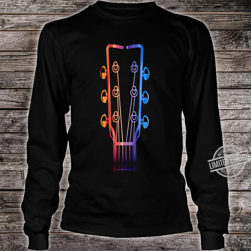 Guitar Strings Shirt long sleeved