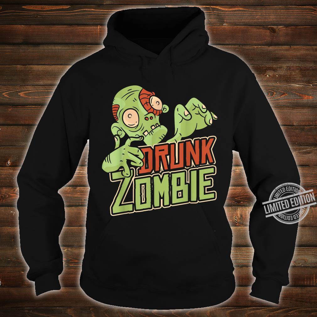 Halloween Costume Drunk Zombie Shirt hoodie