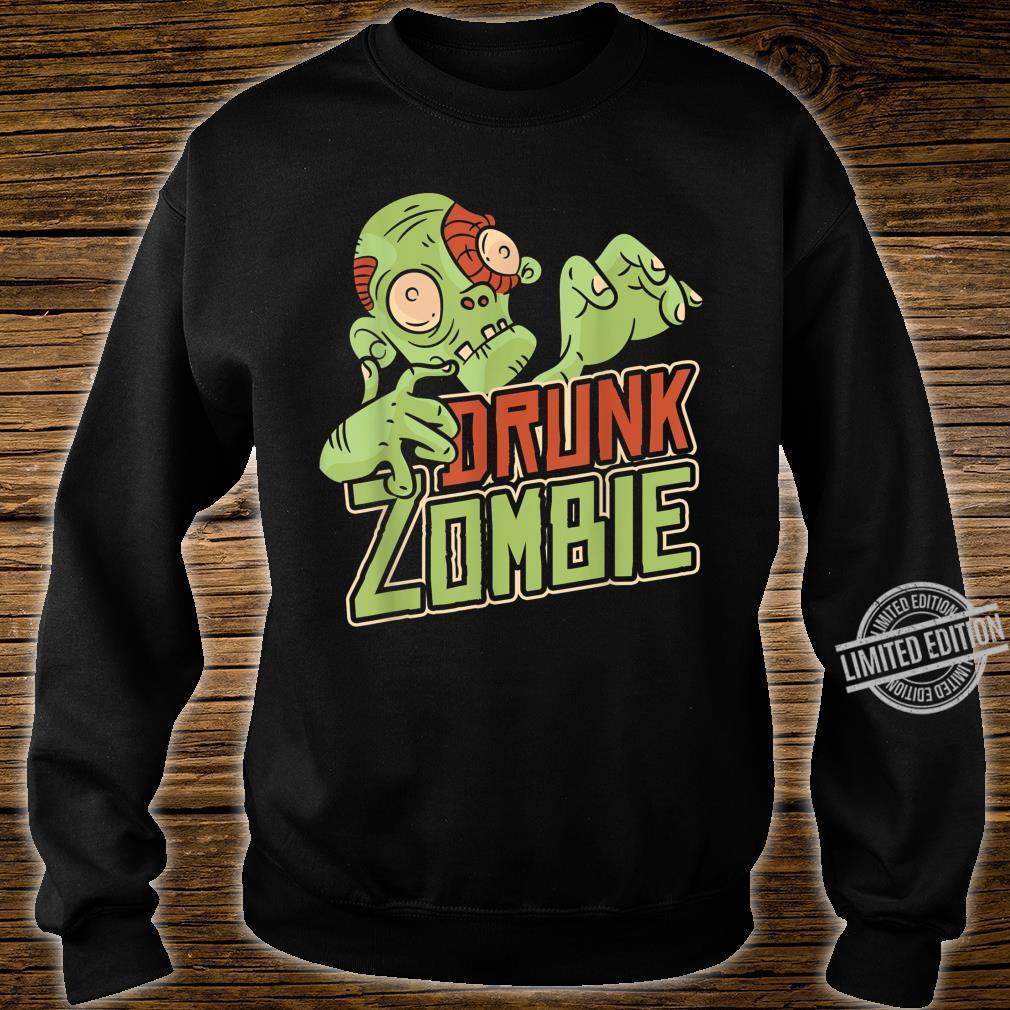 Halloween Costume Drunk Zombie Shirt sweater
