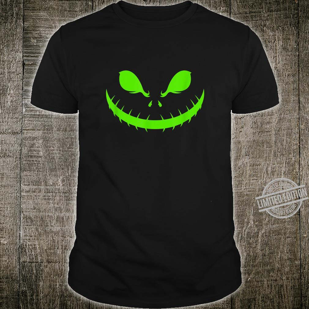 Halloween Gesicht Kürbis Party Feiern Festival Shirt