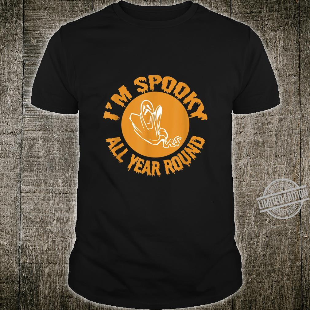 Halloween Spooky All Year Round Shirt