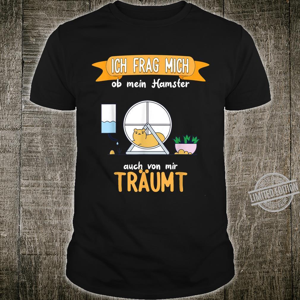 Hamster lustiger Spruch Shirt