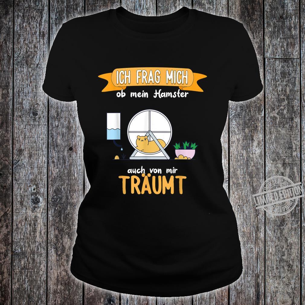 Hamster lustiger Spruch Shirt ladies tee