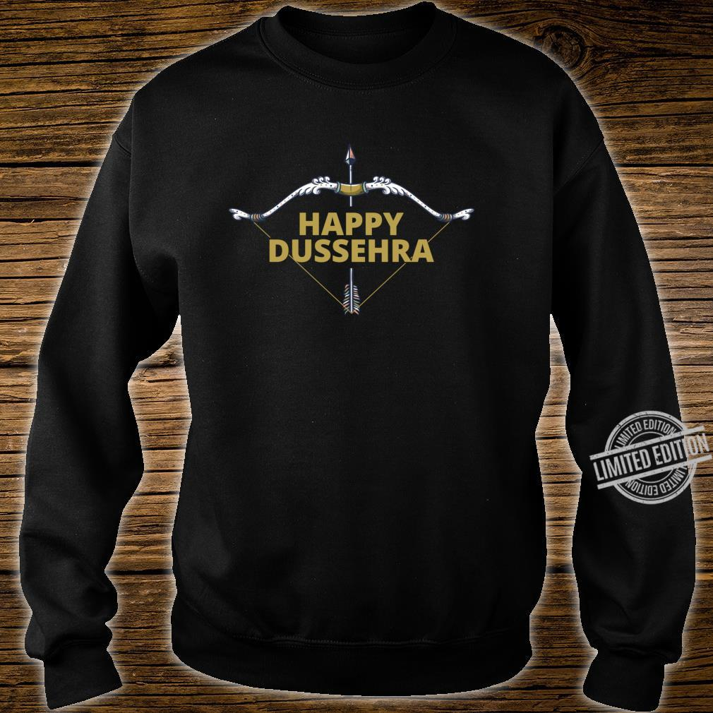 Happy Dussehra Dashahara Holiday Festival Bow and Arrow Shirt sweater