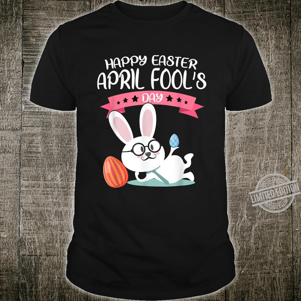 Happy Easter April Fool's Day Shirt Easter 2020 Nerdy Shirt