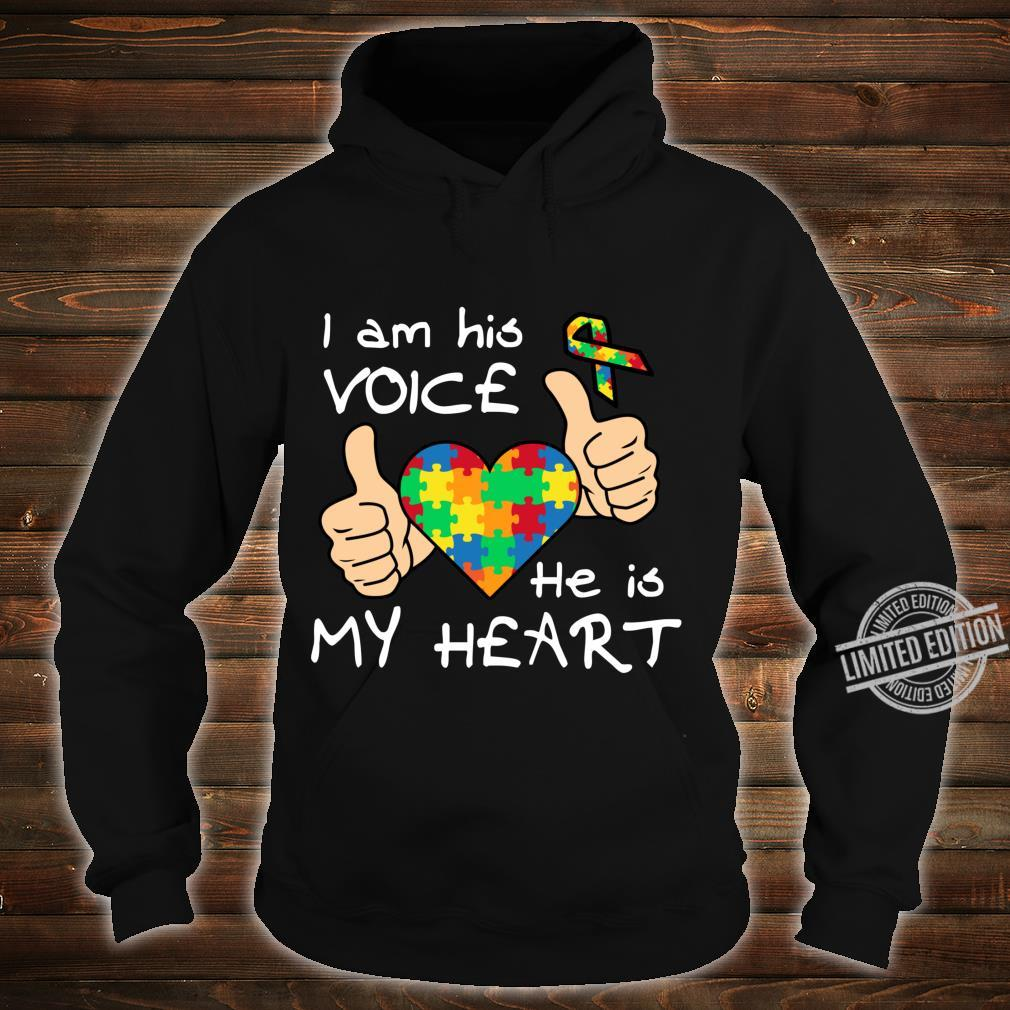 Heart Puzzle Son Quotes Inspirational Autism Awareness Shirt hoodie