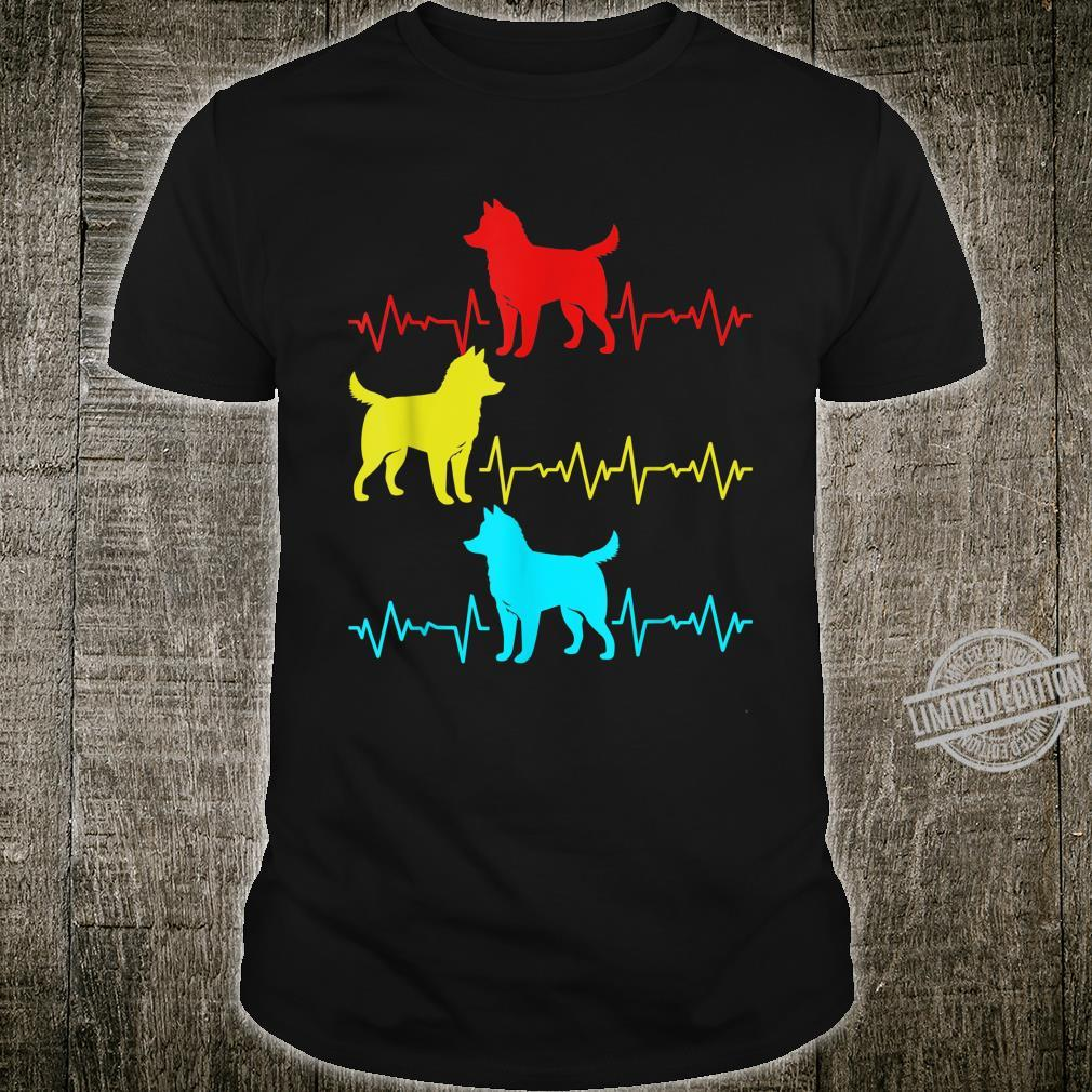 Heartbeat And Heartline For Siberian Husky Owner Shirt