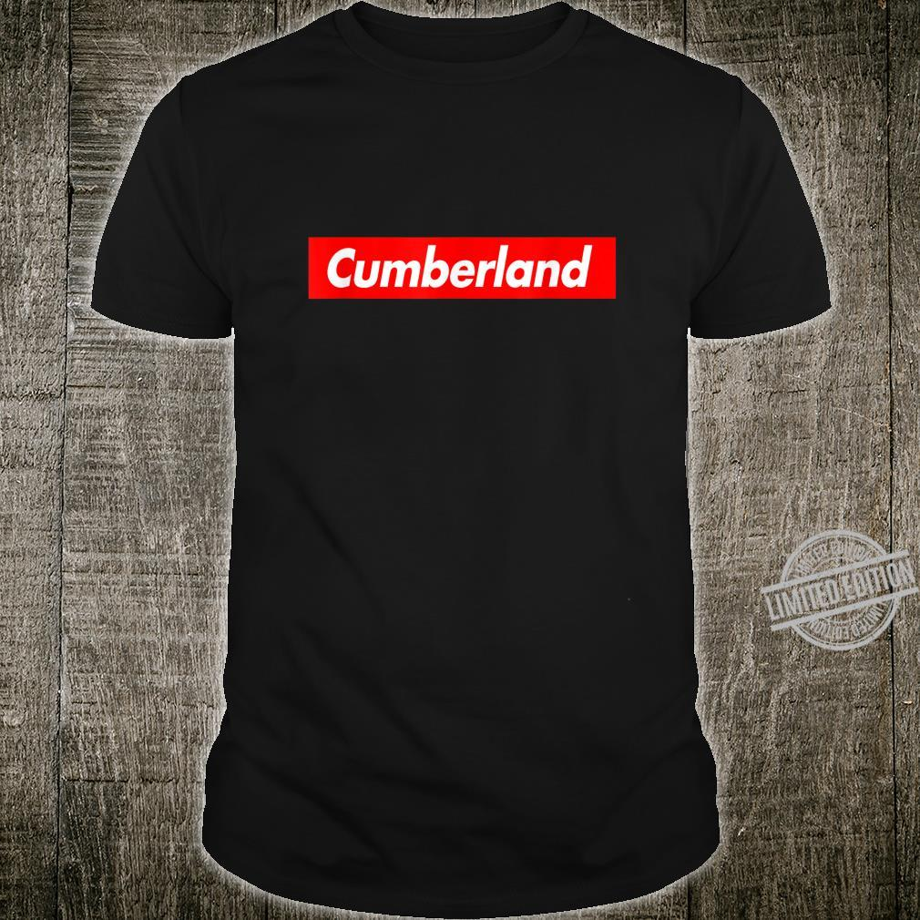 Herren Cumberland Red Box Logo Shirt