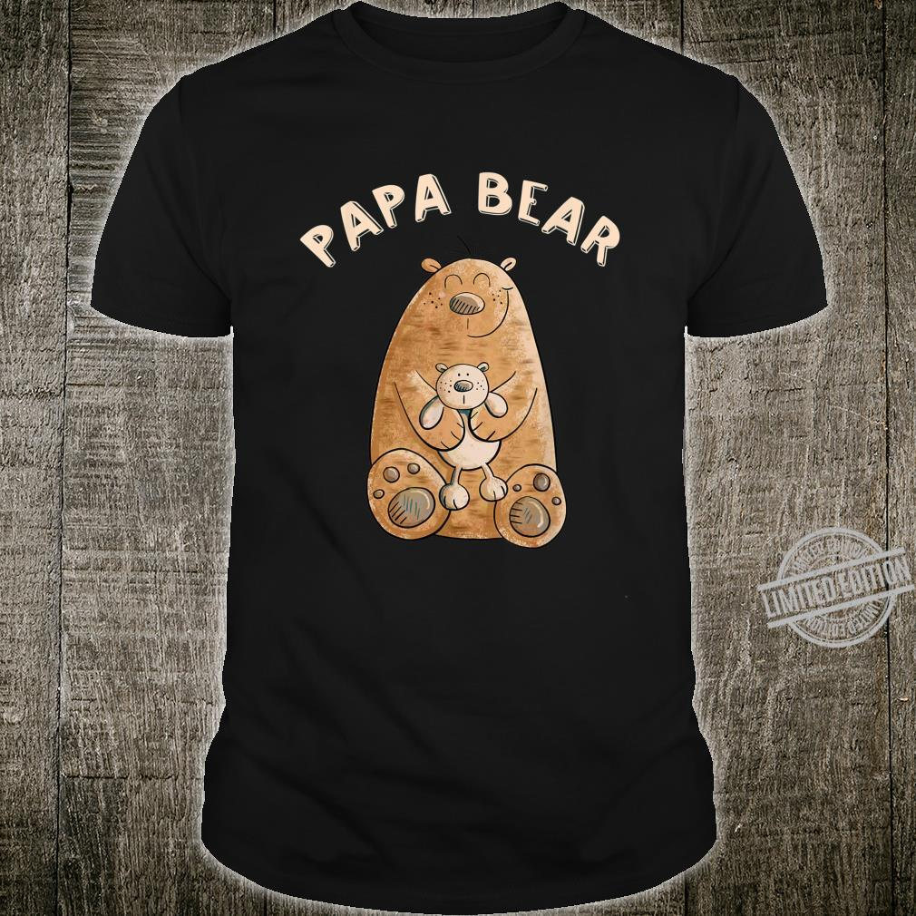 Herren Papa Bear Design I Papa Bär Spruch I Vatertag I Vater Shirt