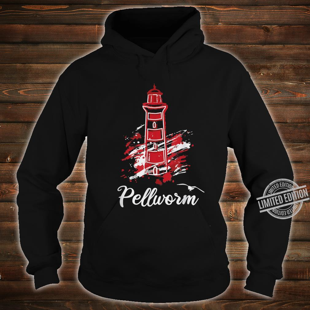 Insel Pellworm Nordsee Wattenmeer Leuchtturm Shirt hoodie