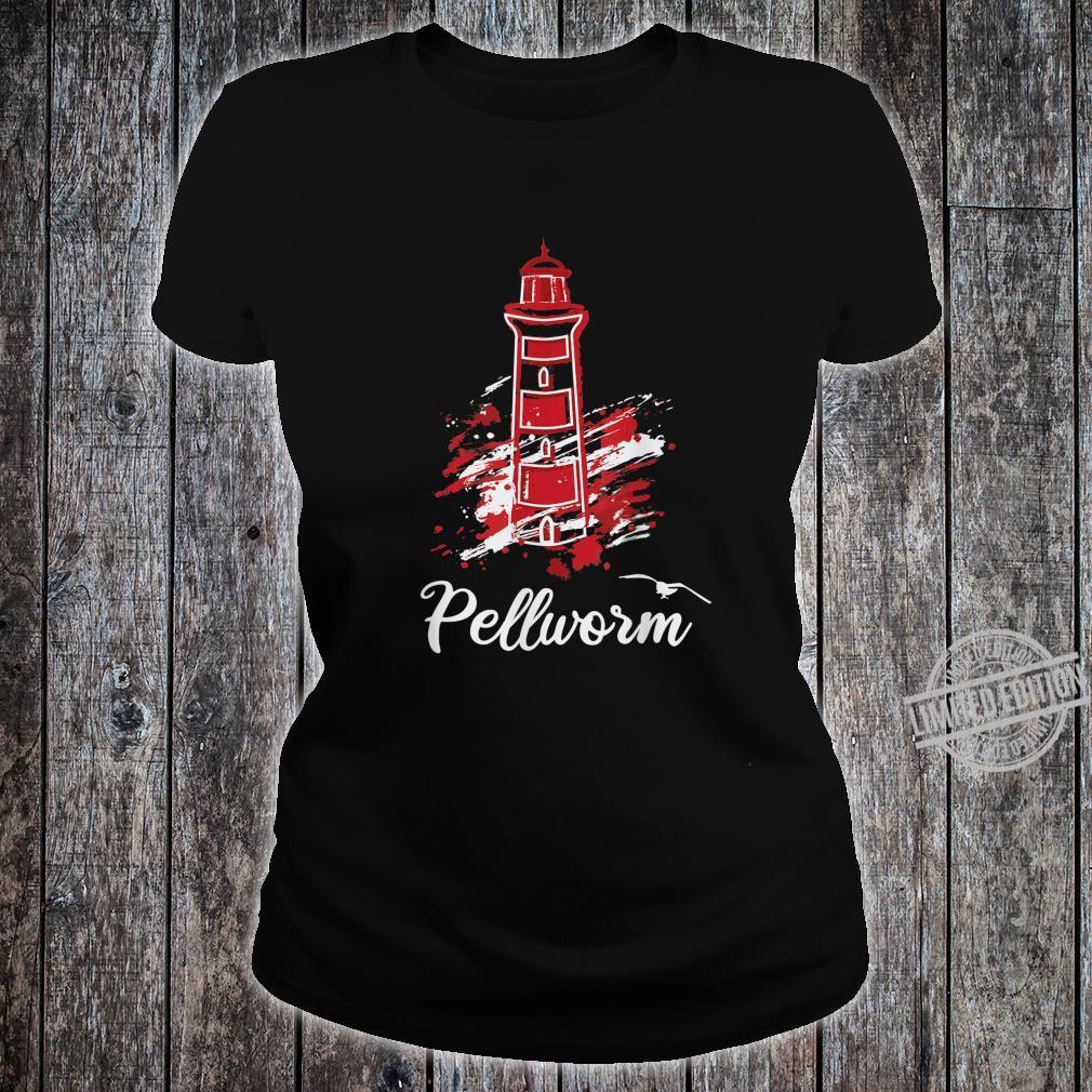 Insel Pellworm Nordsee Wattenmeer Leuchtturm Shirt ladies tee