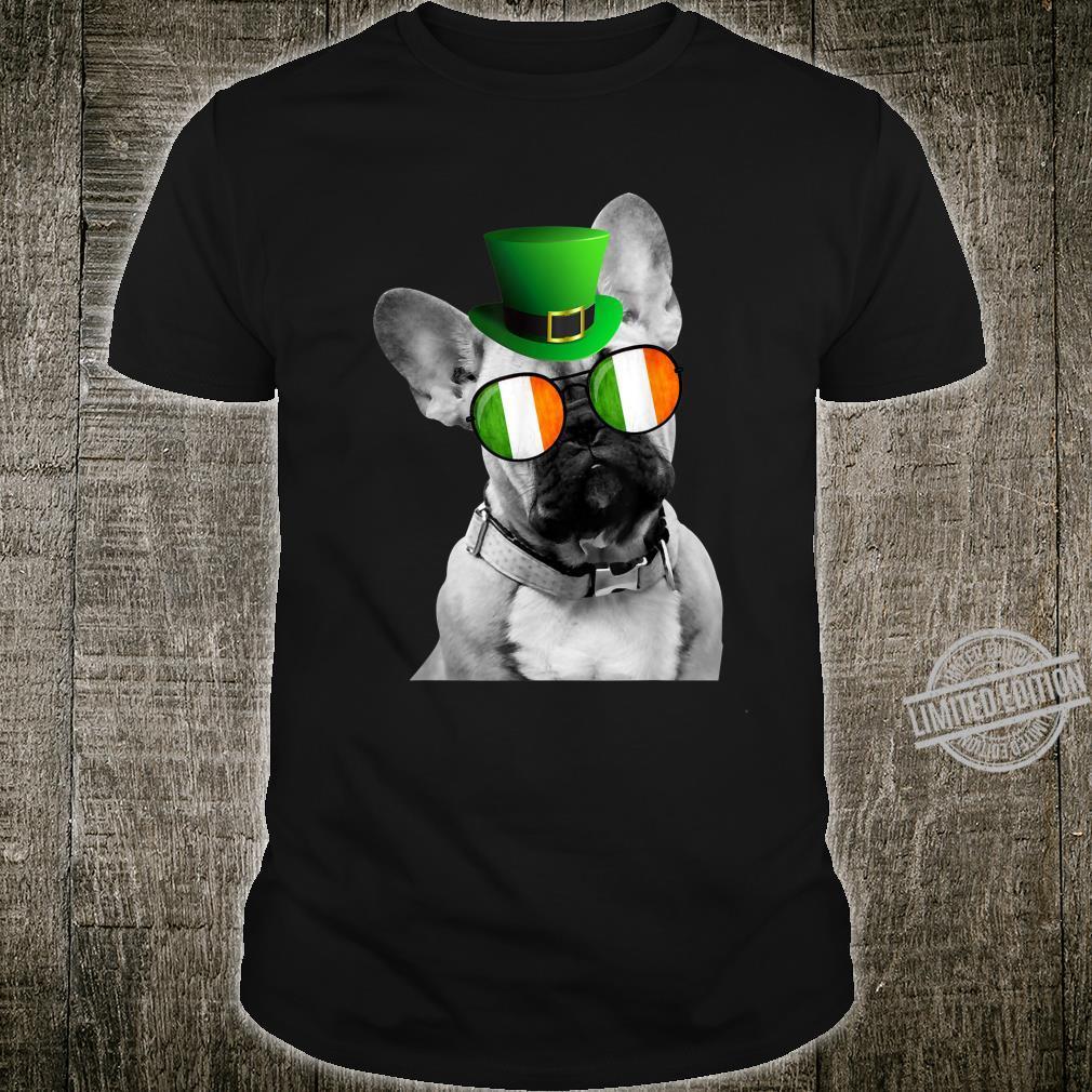 Irish Frenchie Leprechaun Patrick's Day Shirt
