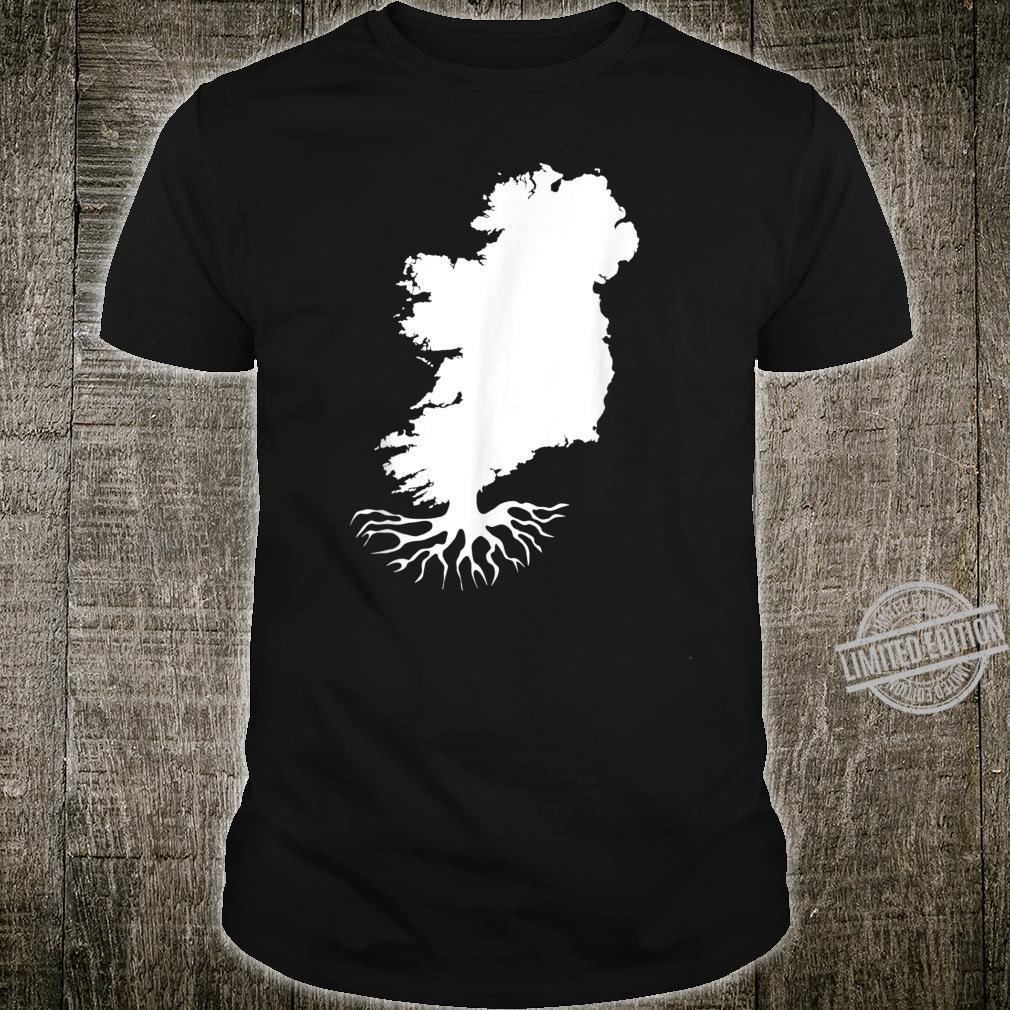 Irish Roots Map St. Patrick's Day Shirt