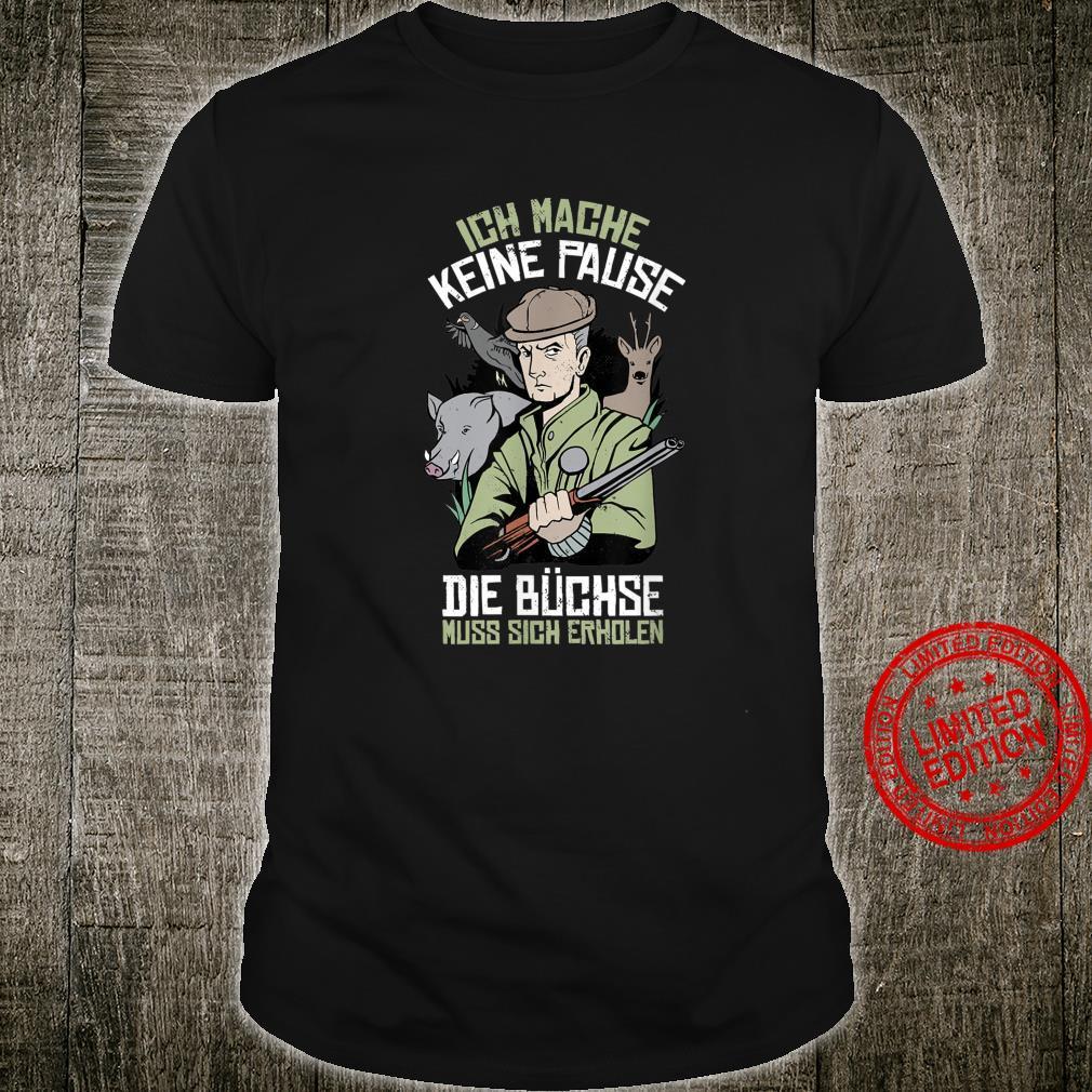 Jagd Waidmann Lustiges Geschenk für Jäger Jagdschein Shirt