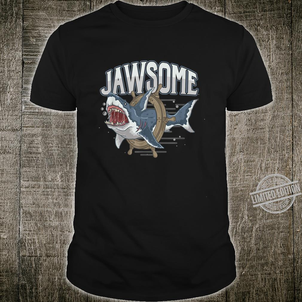 Jawsome Shark Fan Surfer Diver Swimming Swimmer Animal Shirt