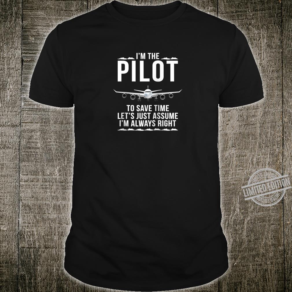 Jet Pilot CoCaptain Shirt
