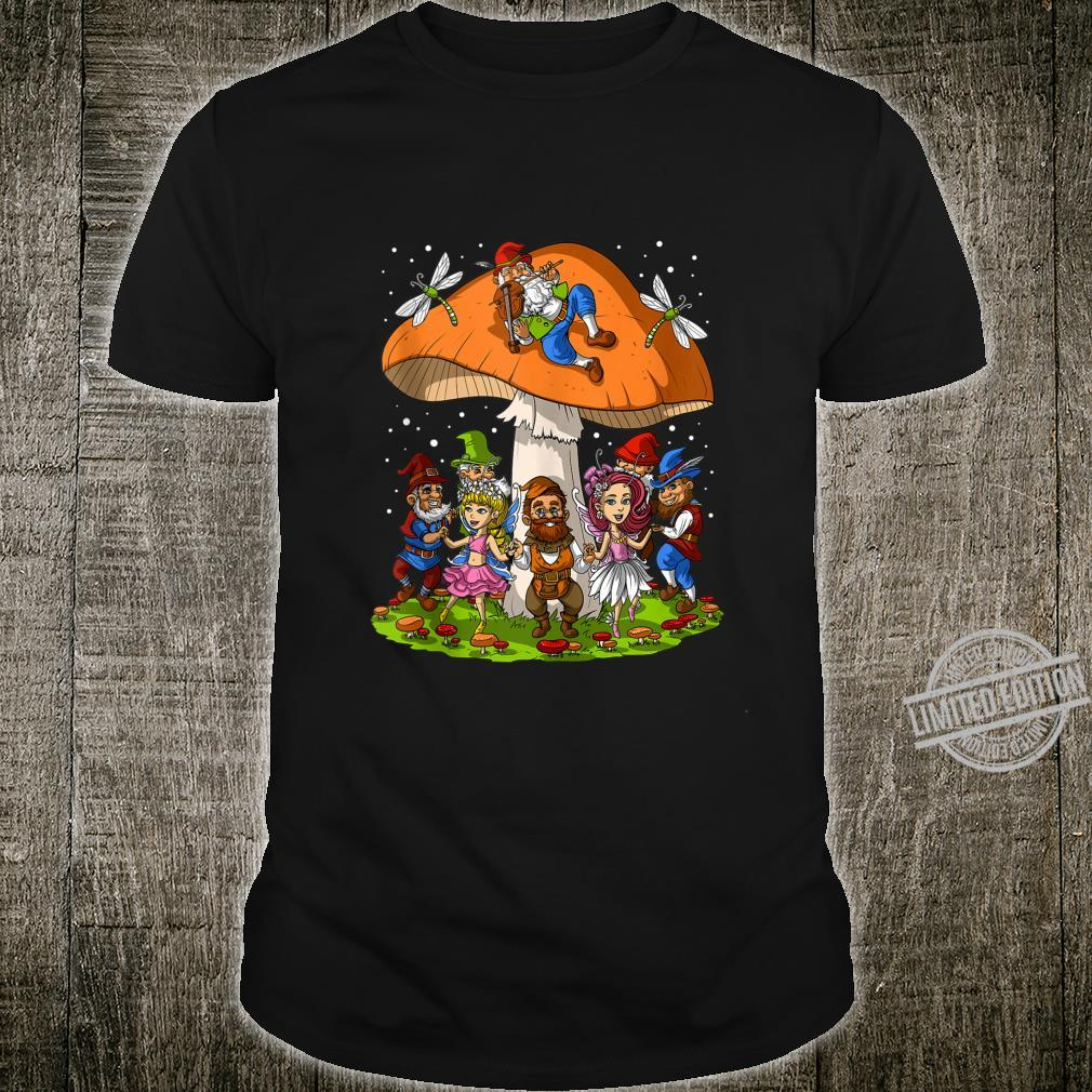 Magic Mushrooms Gnomes Hippie Forest Fungi Fantasy Festival Shirt
