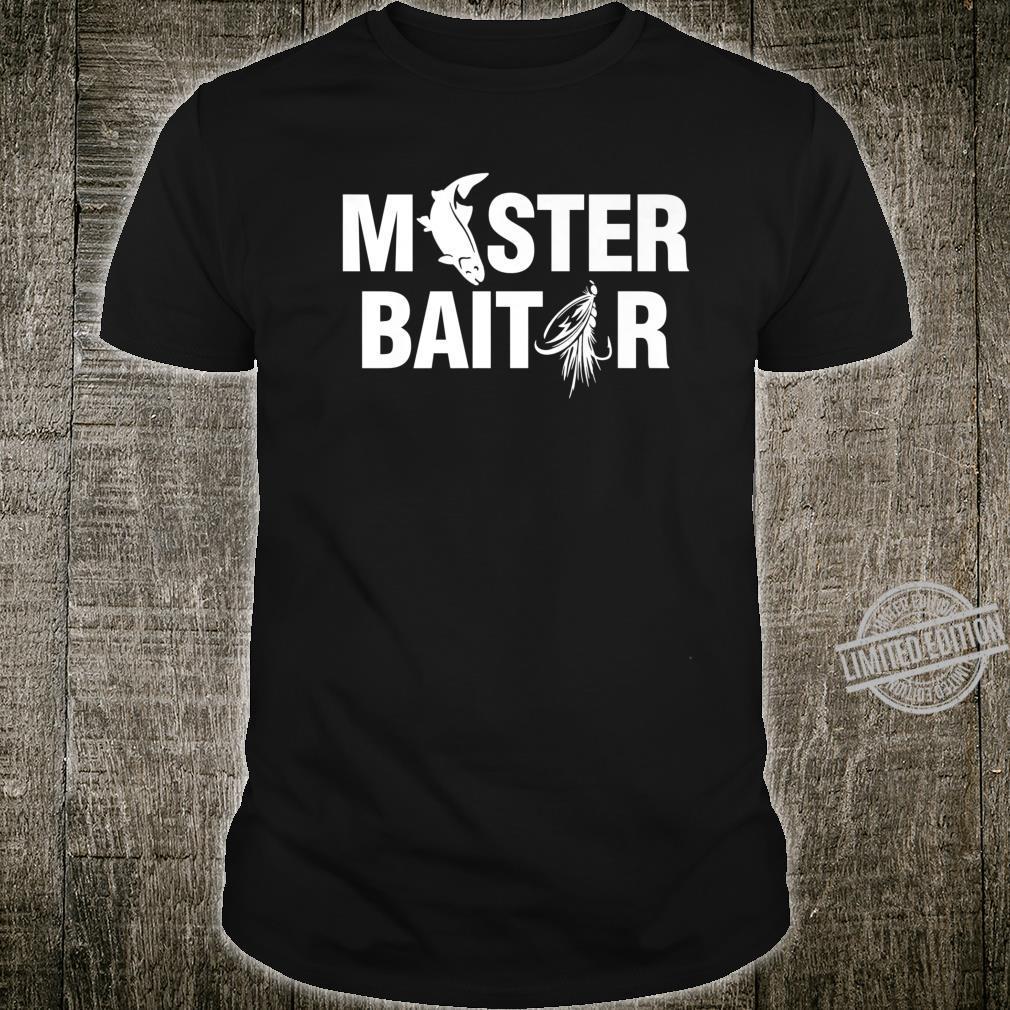 Masterbaitor Fishing Fish Master Baitor Grandpa's Shirt