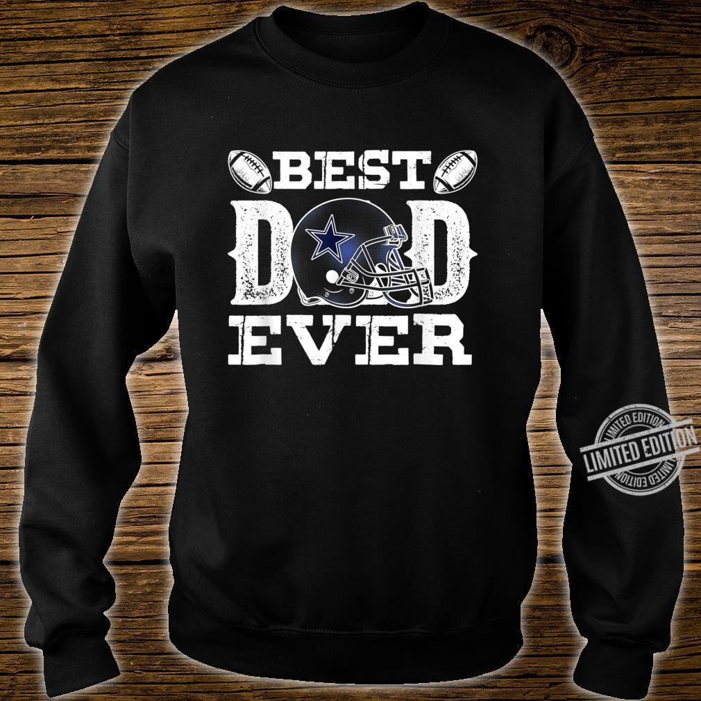 Mens Best Dad Ever Dallas D Texas City Father's Day Shirt sweater