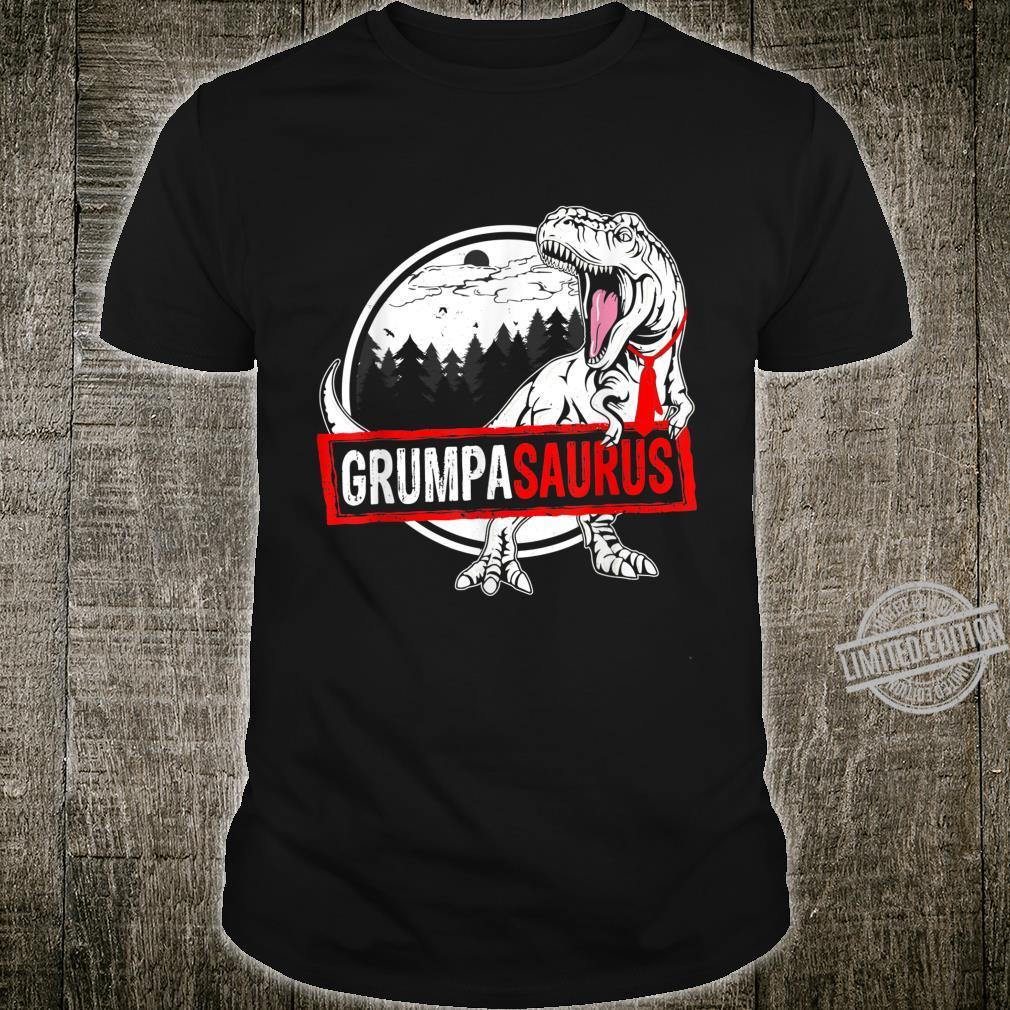 Mens Dinosaur Grumpasaurus Outfit Family Father's Day Shirt