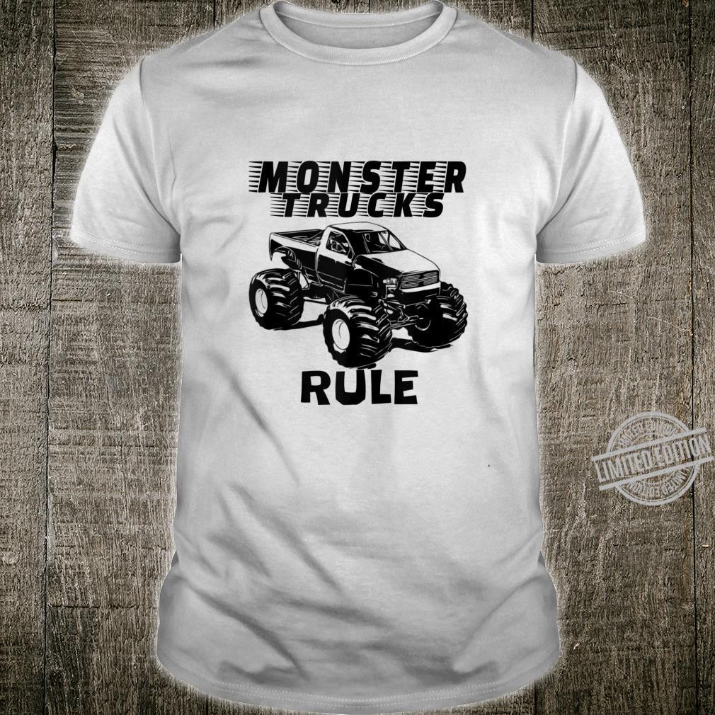 Mens The # 1 best Monster Trucks Rules on the planet. Shirt