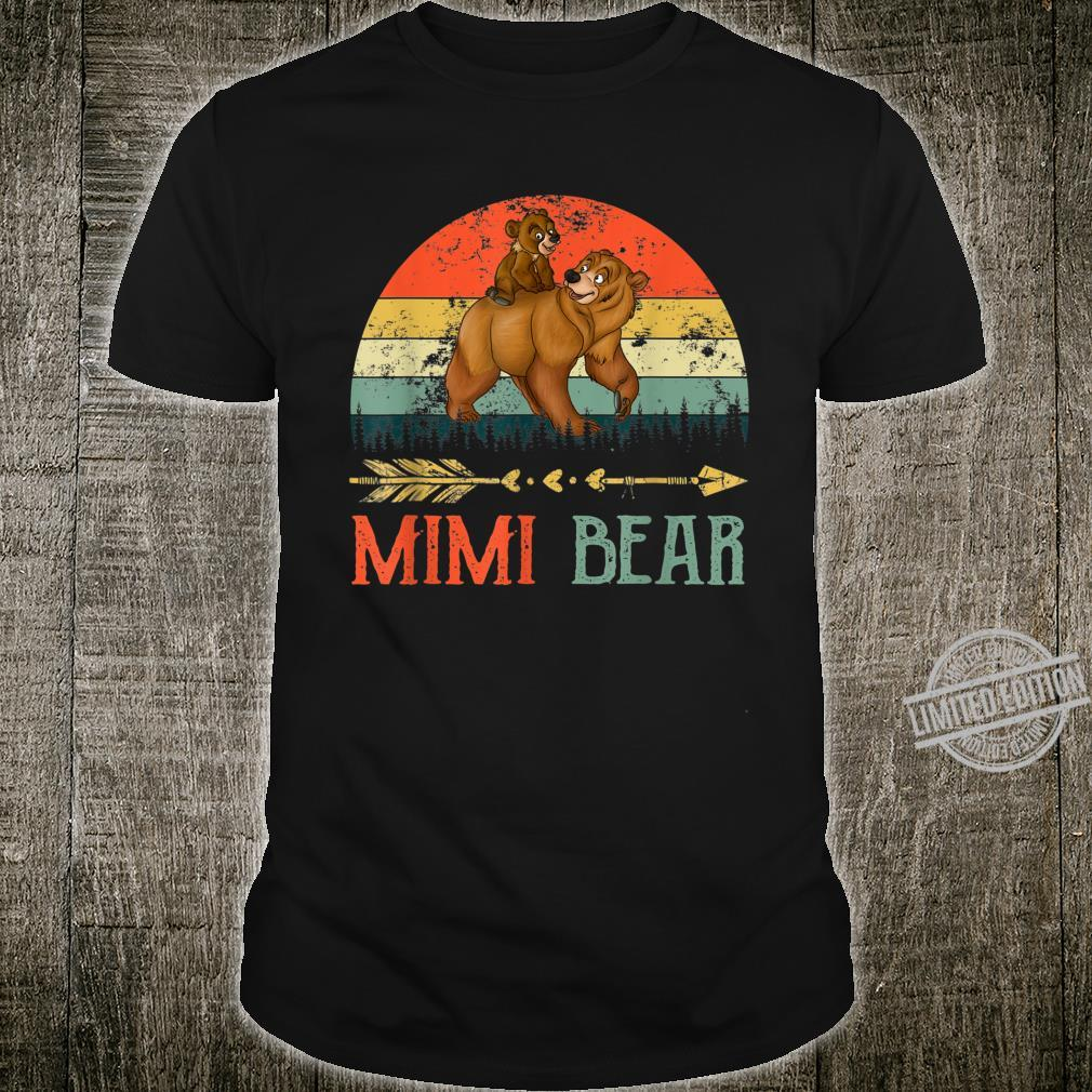 Mimi Bear Vintage Mommy Wildling Mother's Day Mom Shirt