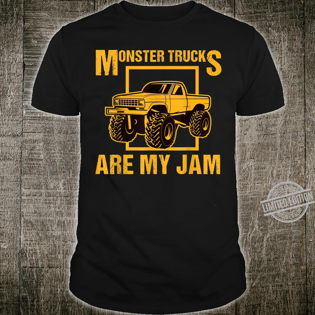 Monster Trucks Are My Jam Cool Shirt