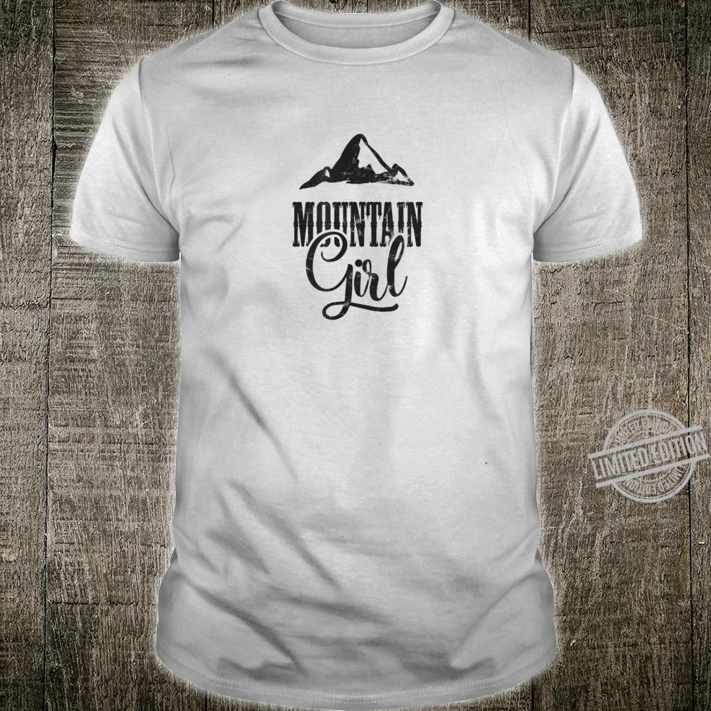 Mountain Girl Dark Shirt