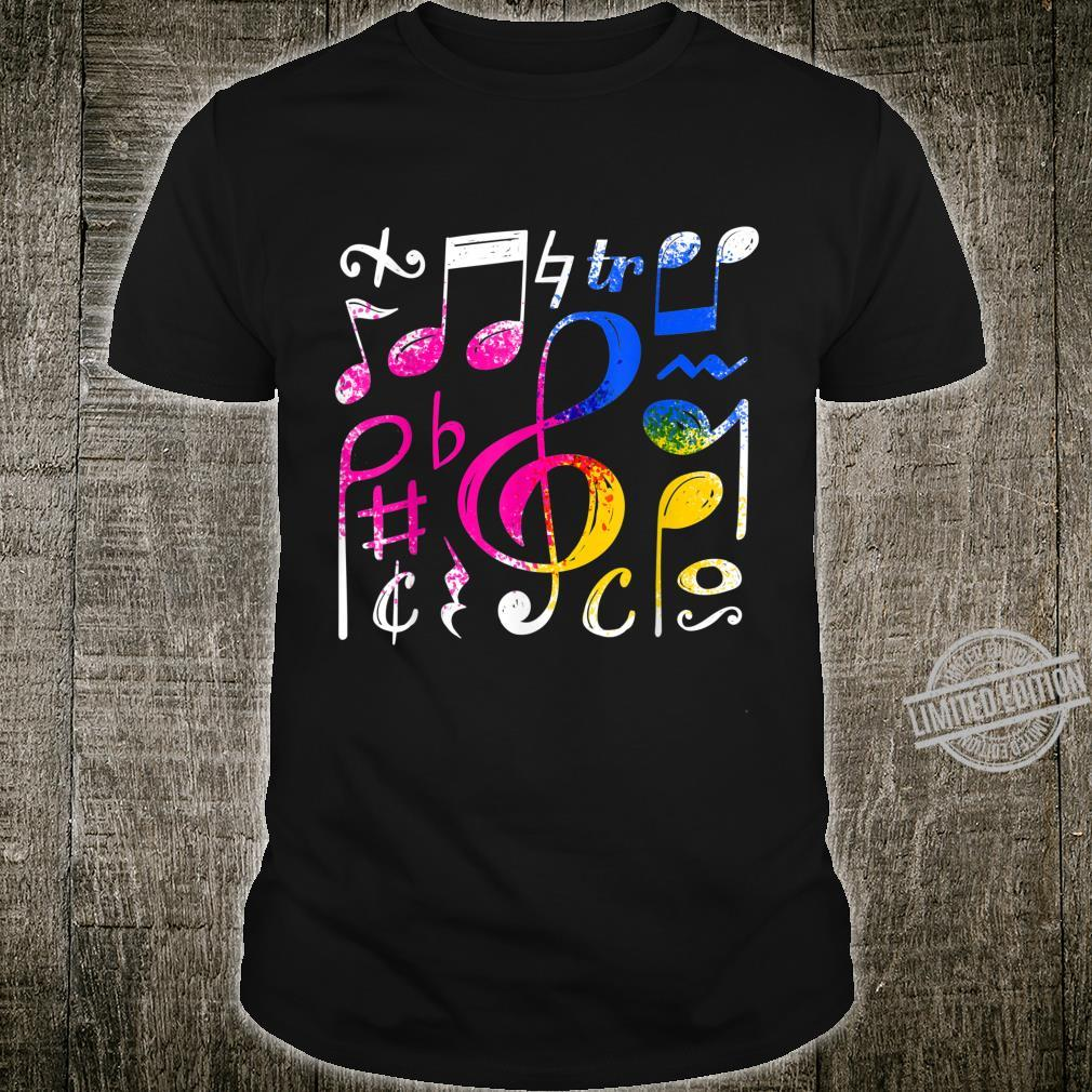 Music Musical Notes Treble Clef Shirt