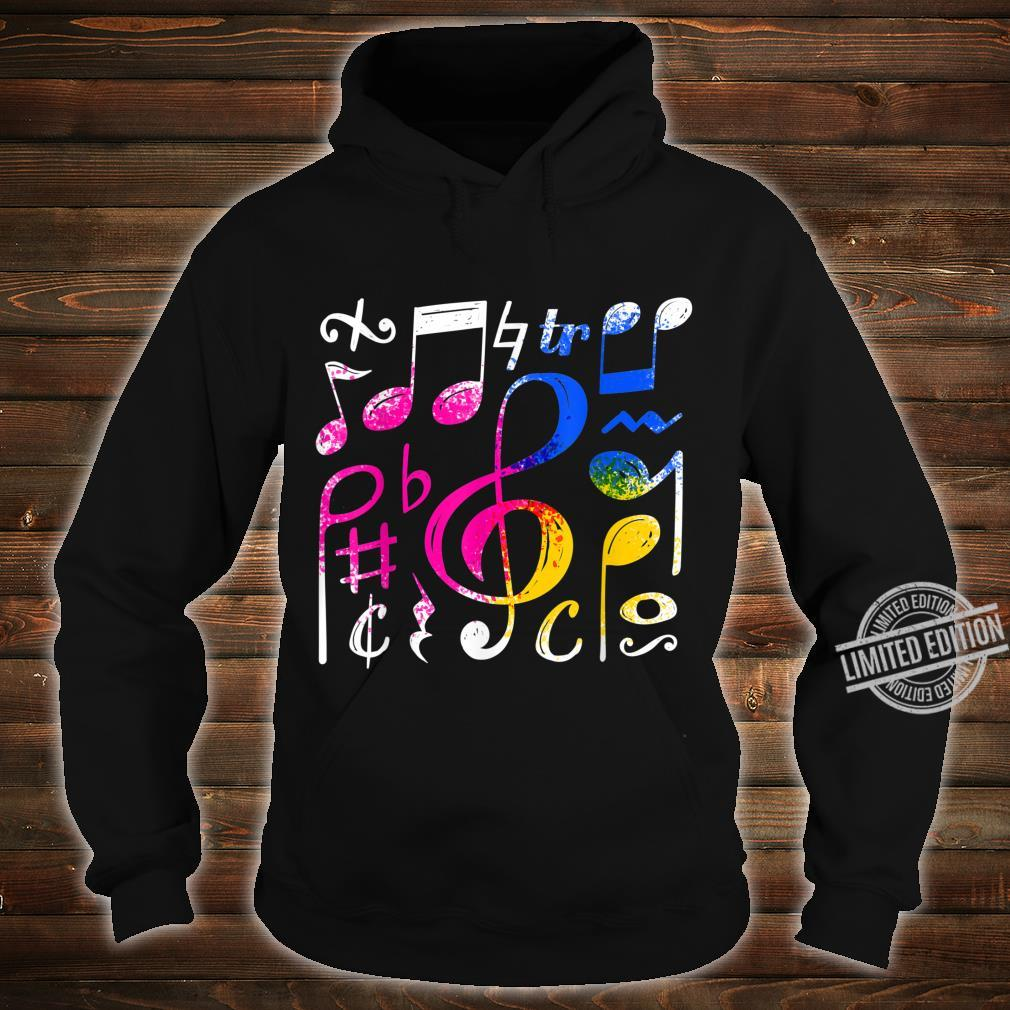Music Musical Notes Treble Clef Shirt hoodie