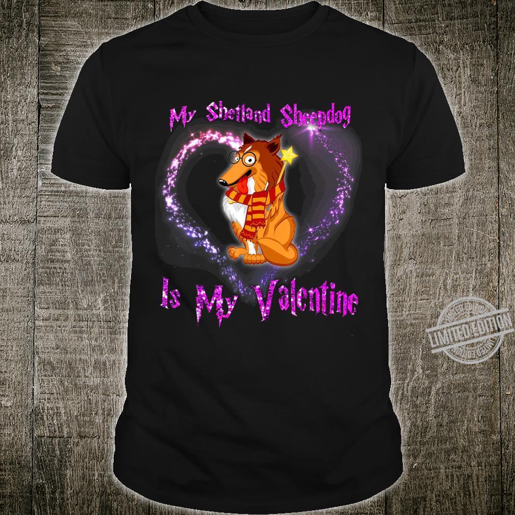 My Shetland Sheepdog is my Valentine Shirt