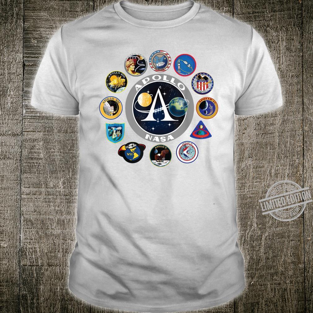 NASA Apollo Mission Patches Shirt