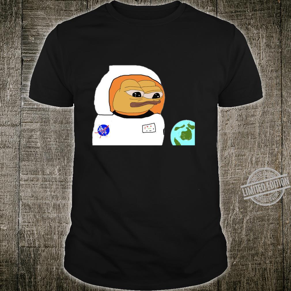 NASA Pepe Walking Astronauts in Space Shirt