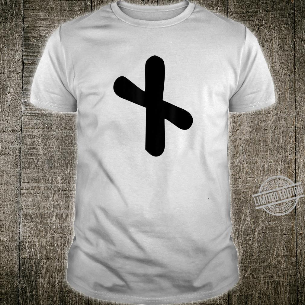 Nauthiz Rune Viking Runic Alphabet Need Fortune Shirt