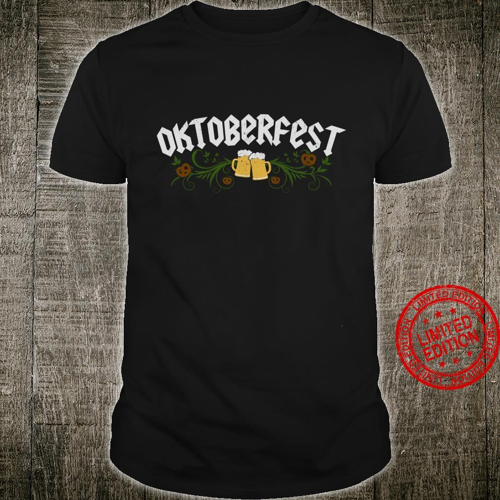 Oktoberfest Vintage German Souvenir Traditional Bavarian Shirt