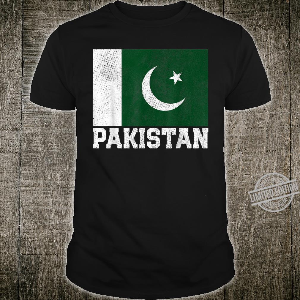 Pakistan Flag National Pride Family Roots Shirt