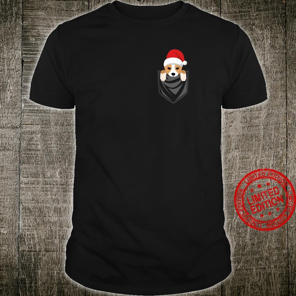 Pocket Corgi Dog Christmas Shirt