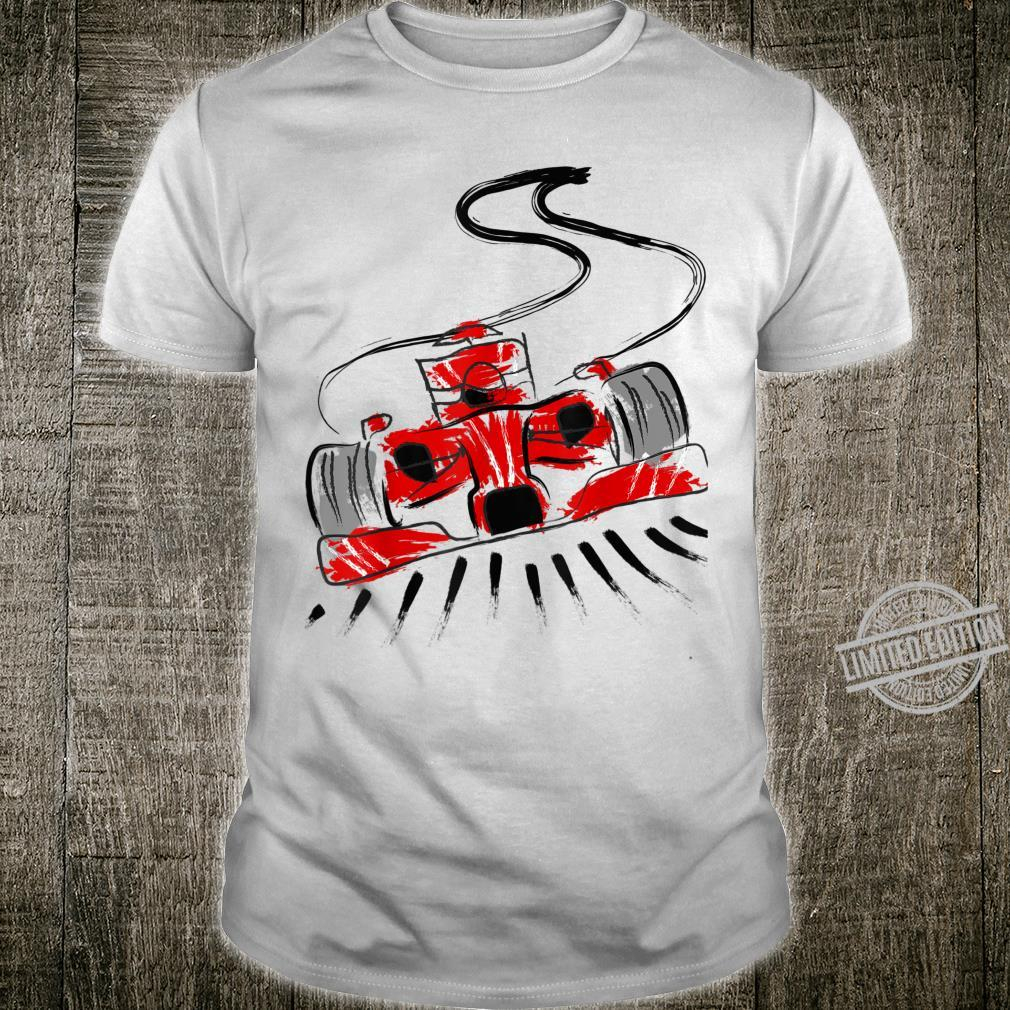 Rennfahrer Autorennen Sportwagen Motorsport Rennauto Shirt