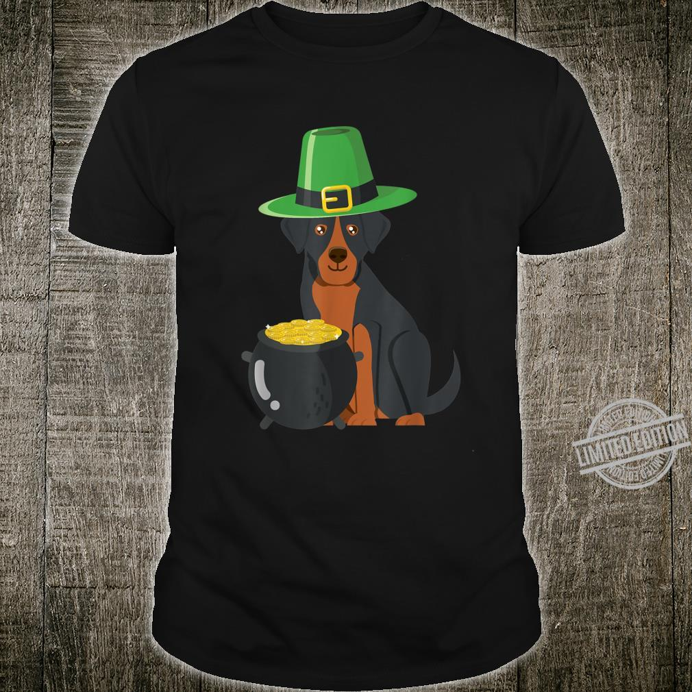 Rottweiler Rottie Saint Patrick day Irish Shirt